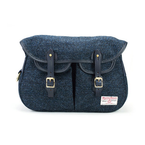 Brady Ariel Trout Small Bag Harris Tweed - Cambridge