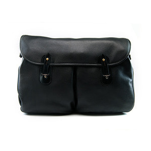 Brady Leather Gelderburn Shoulder BagBlack