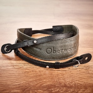 [Oberwerth] Rhein - Black / Light grey Camera Strap