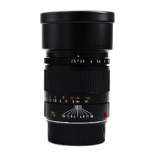 [중고] M 75/2.5 Summarit 6bit (Black)